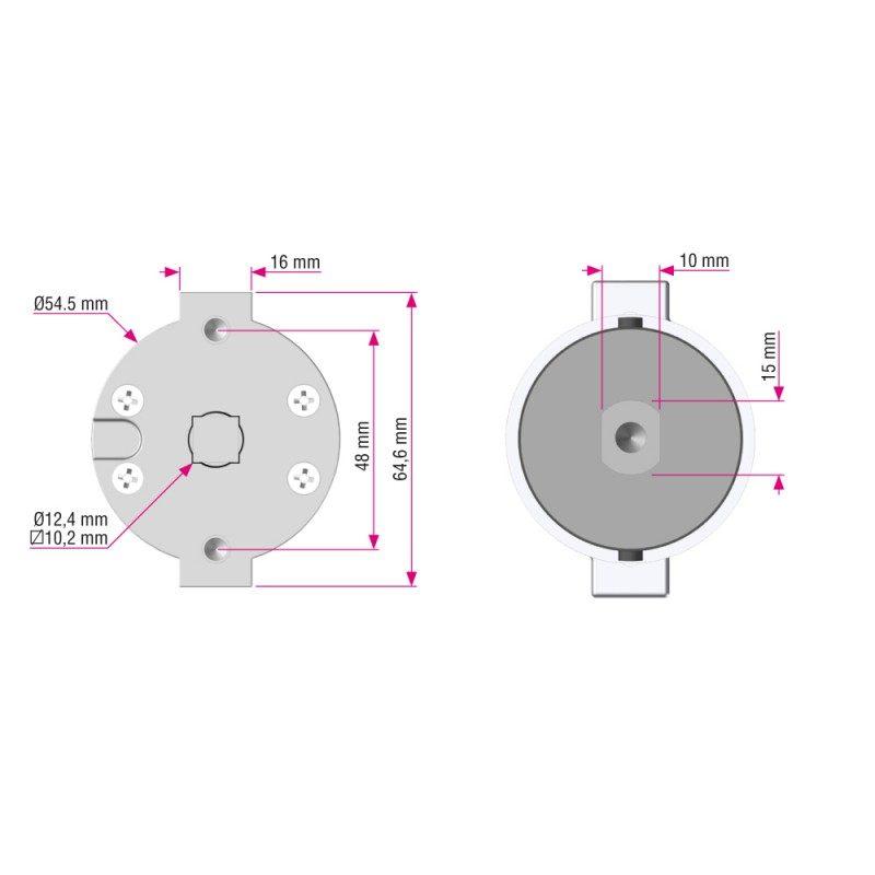 moteur tubulaire filaire telco pm. Black Bedroom Furniture Sets. Home Design Ideas