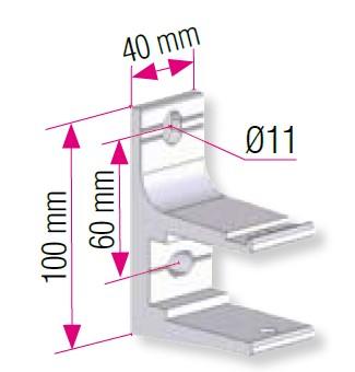 supports de pose pour stores i izistores. Black Bedroom Furniture Sets. Home Design Ideas